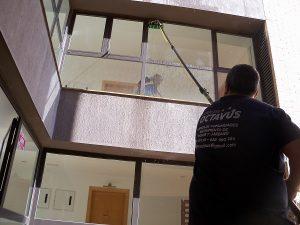 Limpieza de cristales en Zaragoza