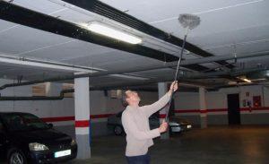 Limpieza de garajes en Zaragoza.